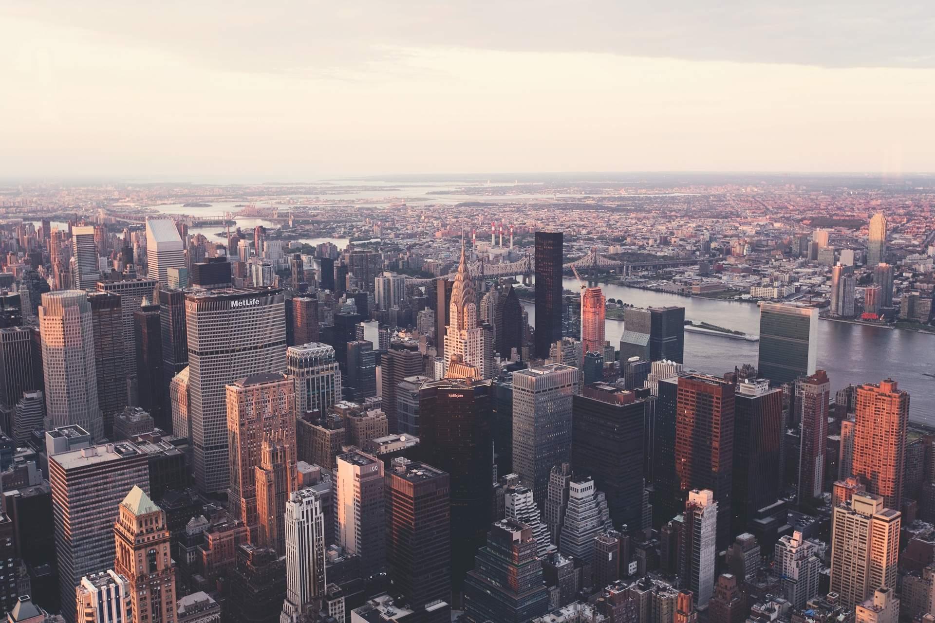new york city skyline 1920